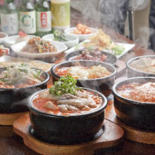本格的な韓国料理を堪能下さい♪