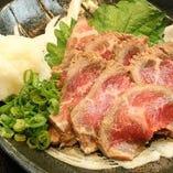 牛タタキおろしポン酢