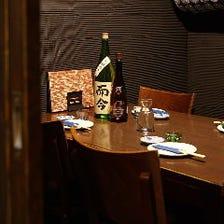 個室で愉しむ!日本酒×女子会が熱い