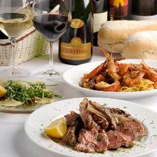 イタリア料理とワインで乾杯!!