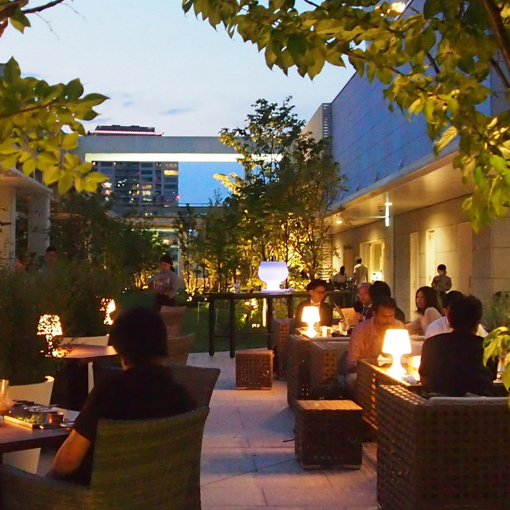 ARK HILLS SOUTH TOWER ROOFTOP LOUNGE 六本木BBQビアガーデン