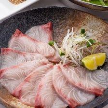 -柔らかな食感と甘味感じる旬魚-