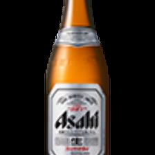 アサヒビールで乾杯