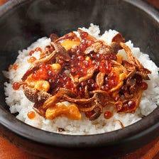 【漸名物】ウニ、イクラ、キノコの土鍋ご飯