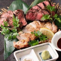 燻し肉3種盛り