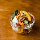 自家製ジャーマンピクルス/Homemade German Pickles