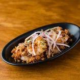 小エビとキヌアのトマトタブレ/Shrimp & Quinoa Tomato Taboule