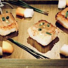 ◆ユニークでモダンな料理◆