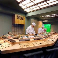 ◆鮨の美味しさと真摯に向き合う空間