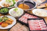 ランチ◆寿司・しゃぶしゃぶ食べ放題 2,200円 ※土・日・祝のみ