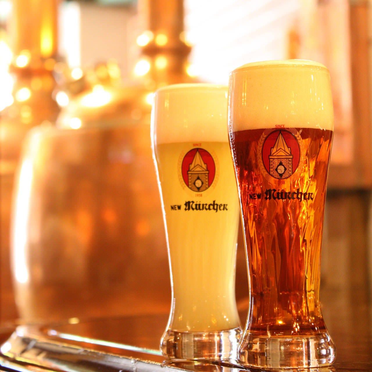 ニューミュンヘンだけの限定ビールも