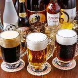 【飲み放題】 生ビール3種もおかわり自由な宴会コースをご用意