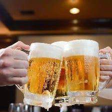 職人技のビール&地鶏の唐揚で宴会!