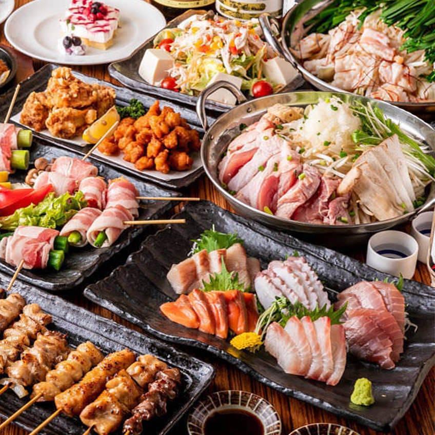 博多料理&3h飲み放題コース3000円税抜