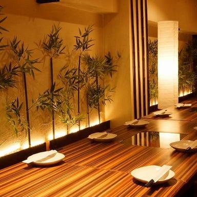 博多料理と野菜巻き 個室居酒屋 なまいき 品川店  店内の画像