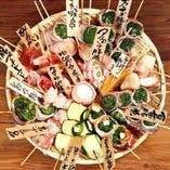 """有機野菜のみを使用した""""野菜巻き串""""【福岡県】"""