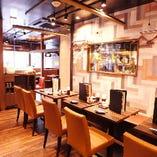 【品川駅徒歩2 分】歓送迎会・接待・に最適!テーブル席です!