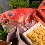 【おすすめ】 料理長厳選の魚を贅沢に味わえるお刺身盛り合わせ