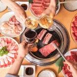 【宴会に☆】焼肉宴会は肉の街におまかせ♪