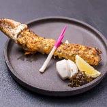 タラバ蟹の蟹味噌焼きグラタン