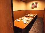 【完全個室/5名様~12名様】接待や少人数のご宴会をゆったり個室空間で