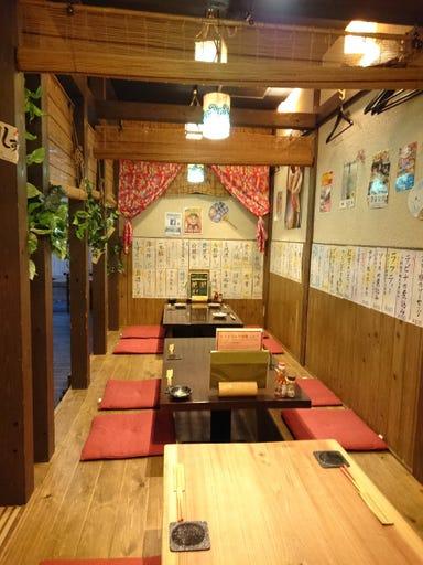島豚アグーと沖縄料理居酒屋 あかゆら 武蔵小杉 店内の画像