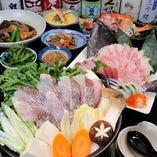 冬宴はやっぱり海鮮鍋のコースが欲しくなる♪お造りも豪華絢爛!
