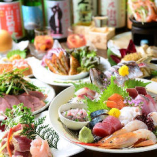 ボリューム!鮮度!味!価格のどれをとっても自信作! ※系列店のコース料理一例です。