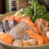 絶品出汁の海鮮鍋