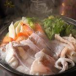 自慢の海鮮鍋