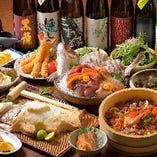名物!鯛の塩釜焼きコース ※コース料理一例です。