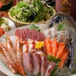 【名物!鯛の塩釜焼きコース】 ※コース料理のイメージです。