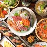 各種ご宴会には季節のコース料理をどうぞ!