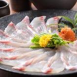 季節の鮮魚を丁寧に。