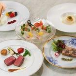 本場フランスで修業したシェフによる本格フランス料理を
