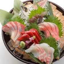 板前特選 豪快刺身5種盛り Itamae Specialty Assorted Sashimi (5 kinds)
