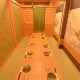 【完全個室】お席のみの予約も大歓迎♪
