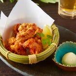 ジューシー◎国産鶏の唐揚げ
