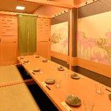 【全席個室】2名様~のんびり寛げる個室へご案内いたします。