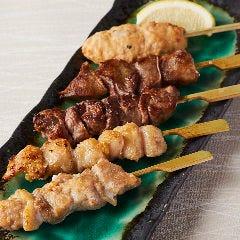 串焼き五種盛り合わせ