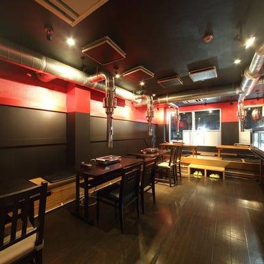 セルフ式500円焼肉 ホルモンマニア 新丸子総本店 店内の画像