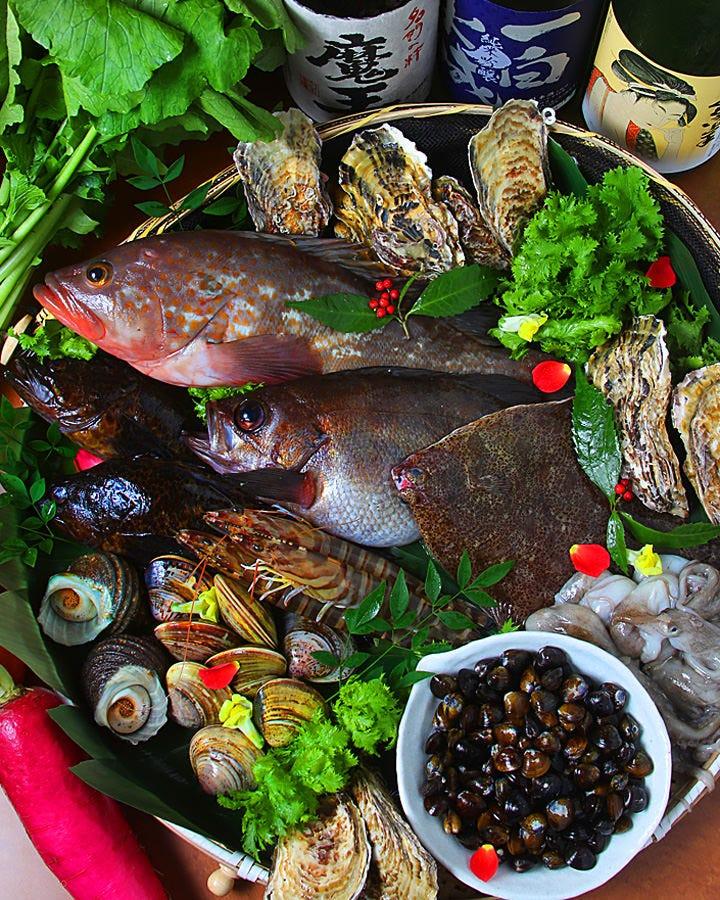 水産会社直送、瀬戸内の鮮魚