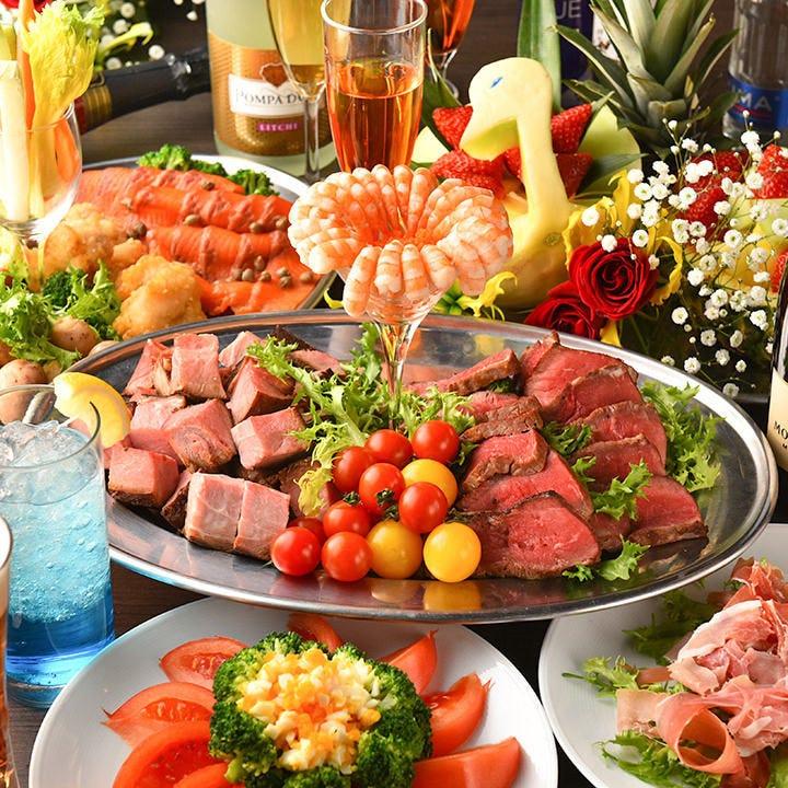 選べる料理&飲み放題コースを多数ご用意!当日の利用もOKです!