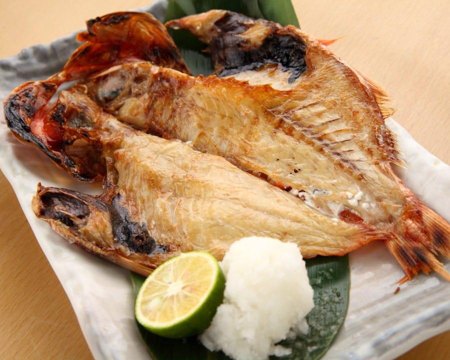 高級魚!金目鯛の開き980円
