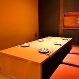 【<座敷>掘りごたつ個室】上質空間でゆったりお食事を楽しむ