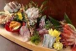 豊洲市場から旬の地魚毎日直送! 今日は何が来るかな★