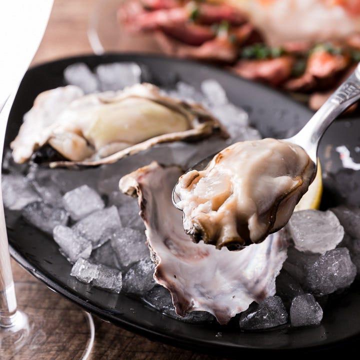 期間限定!自慢の牡蠣を思う存分お得にお楽しみいただけます