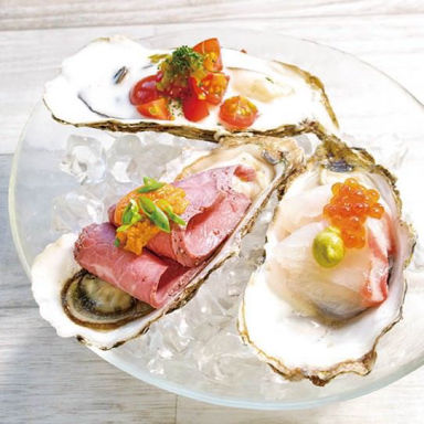 THE CAVE DE OYSTER TOKYO メニューの画像