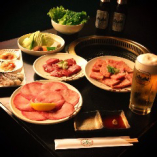 焼肉75種食べ放題+飲み放題 4800円(税込5280円)→クーポンにて4300円(税込4730円)