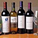 フランスのワインを中心に厳選ワインをご用意しております